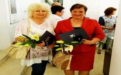 Зоя Начева и Славка Палагачева с награди по повод Международния ден на архивите