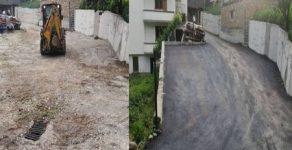 Асфалтираха улици в три родопски села
