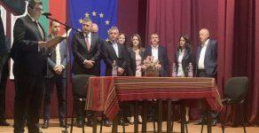 Новоизбраните кметове на Рудозем, Мадан, Неделино и Златоград встъпиха в длъжност