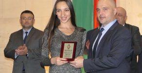 Смолянчанката Александра Соколова е спортист на година на МВР в категория плуване