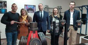 """Откриха нова фитнес зала в ОУ """"Юрий Гагарин"""""""