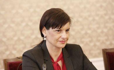 Дариткова: Не е вярно, че мониторинговият доклад на Европейската комисия остава