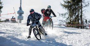 Пампорово се превърна в арена на зрелищни спускания с велосипеди