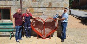 Средногорци се сдоби със сърце за пластмасови капачки