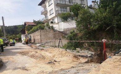 Мащабен ремонт на водопроводната мрежа в няколко мадански села
