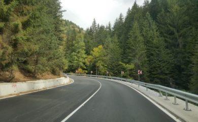 Ремонт на пътя Смолян-Широка лъка