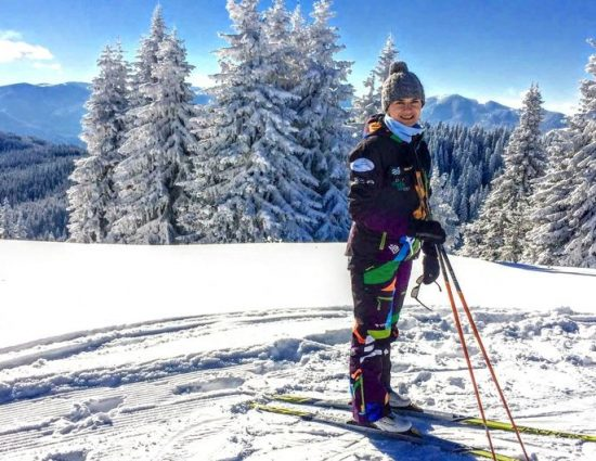 Първи стъпки в ски бягането с Екатерина Дафовска в Пампорово
