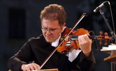 Виртуозният цигулар Веско Ешкенази с концерт в Смолян