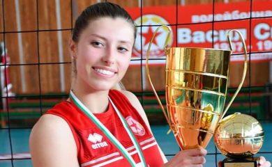 Смолянчанката Александра Костадинова стана MVP нa Държавното първенство по волейбол за девойки