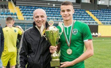 Смолянчанинът Алекс Луканов дебютира за мъжкия тим на Лудогорец