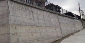 Изградиха подпорна стена в неделинското село Средец