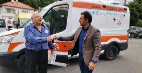 Дариха линейка на болницата в Златоград