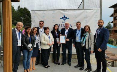 Община Чепеларе с награда от Българския съюз по балнеология и СПА туризъм